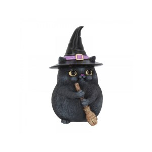 figurine chat sorcier