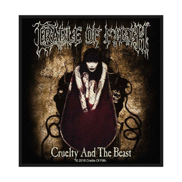 Patch Cradle Of Filth Cruelty And The Beast