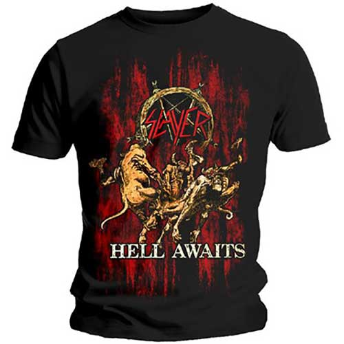 T-shirt Slayer Hell Awaits