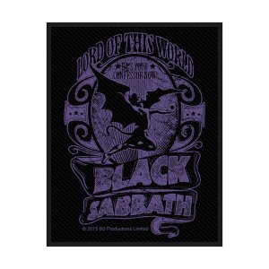 Patch Black Sabbath Lord of this World Licence Officielle