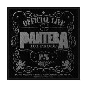 Patch Pantera Proof Licence Officielle