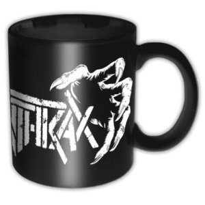 Mug Anthrax Design Death Hands Licence Officielle
