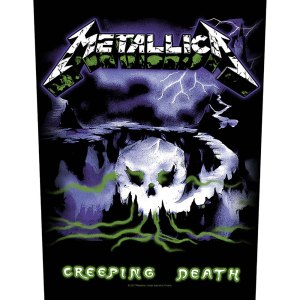 Dossard Metallica Design Creeping Death Licence Officielle