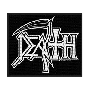 Patch Death Design Logo Licence Officielle