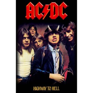 Drapeau AC DC Highway To Hell
