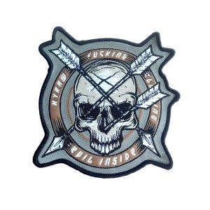 Patch Arrow Skull