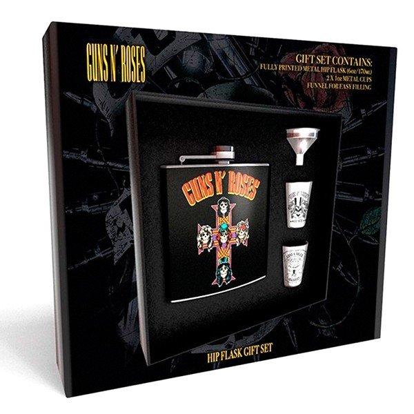 Coffret Flasque Whisky Guns N Roses