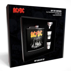 Coffret Flasque Whisky AC DC