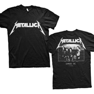 T-shirt homme Metallica Design Damage