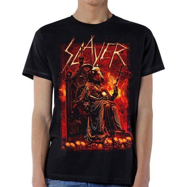 T-shirt homme Slayer Goat Skull Licence Officielle