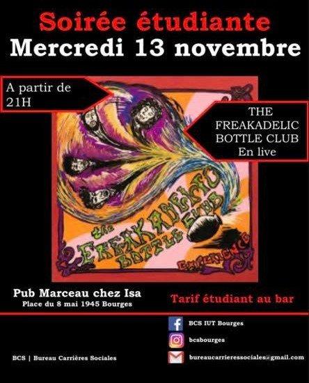 Concert THE FREAKADELIC BOTTLE CLUB