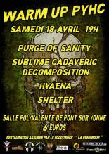 Le 18 Avril 2020 – WARM UP METAL PYHC