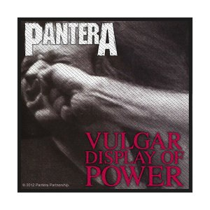 Patch Pantera Vulgar Display Of Power