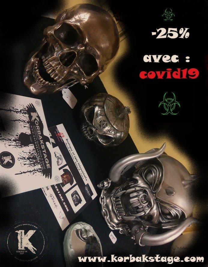 Code Promo Covid19 sur KorbaKStage