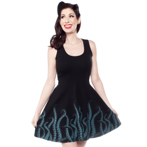 Robe Tentacules Bleues Skater