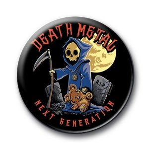 Badge Death Metal Next Generation