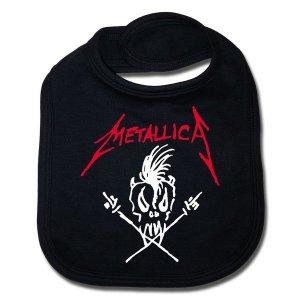 Bavoir Metallica Scary Guy Noir sous licence