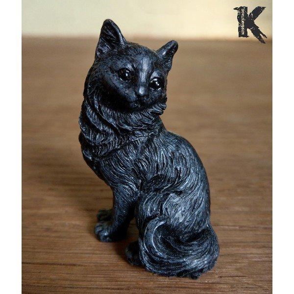 Chat noir porte-bonheur le coquet
