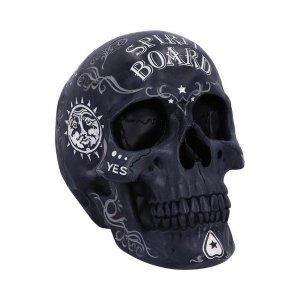 Crâne Spirit Ouija Noir et Blanc en résine