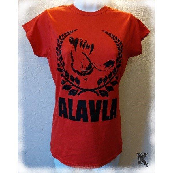 T-shirt Alavla Girly Rouge