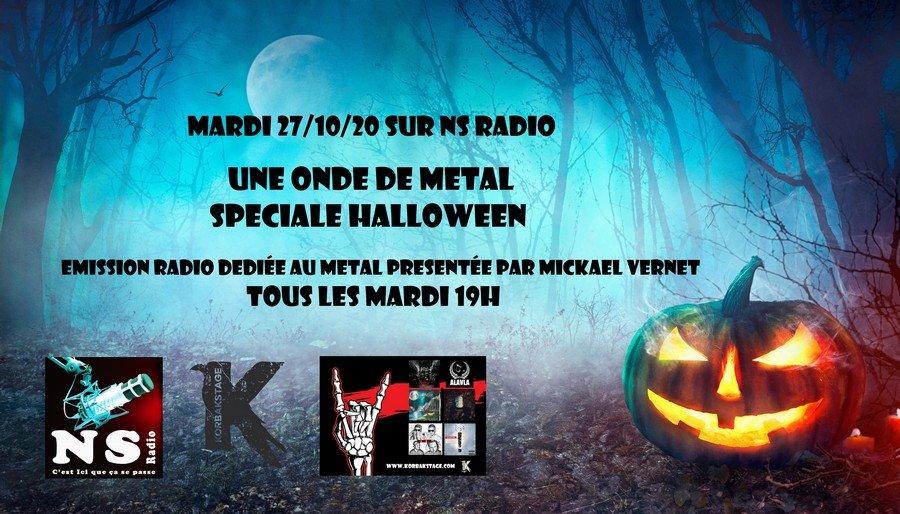 Spéciale Halloween Une Onde Metal