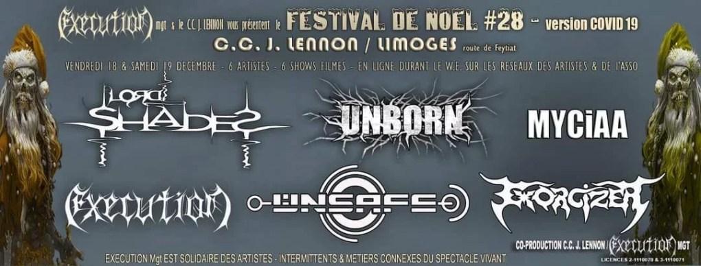 FESTIVAL DE NOEL 28 - LORD SHADES