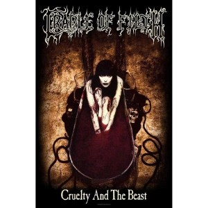 Drapeau Cradle Of Filth Cruelty And The Beast