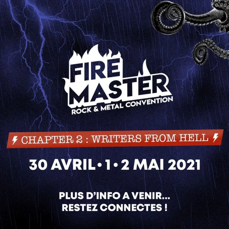EVENEMENT MAINTENU FireMaster Convention 2021