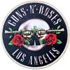 Patch Guns N Roses Los Angeles Silver Licence Officielle