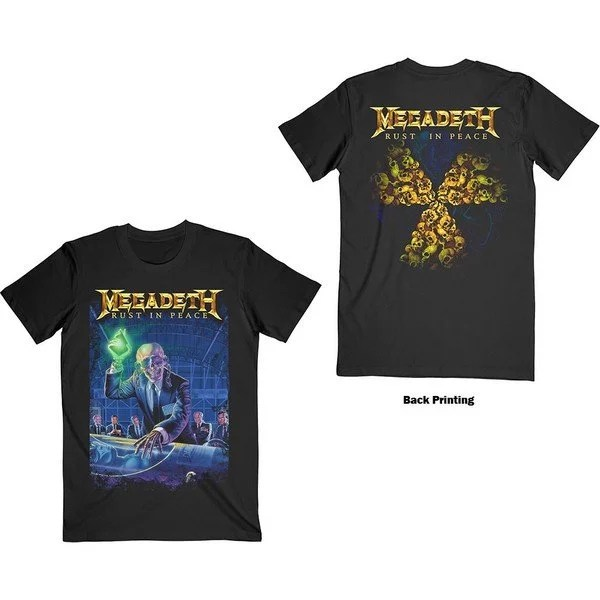 T shirt Megadeth Rust In Peace Licence Officielle