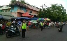 Permalink to Belanja Nyaman, Satlantas Polres Lahat Atur Lalu Lintas Depan Pasar Lama