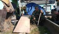 """Permalink to Mengawali Pra TMMD, TNI dan Warga Mulai """"Menyentuh"""" Bangunan Talud"""