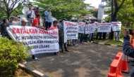 Permalink to Pembangunan Gedung RS Umum Diduga Ada Praktek Korupsi,  AMSS Datangi Kejaksaan