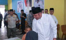 Permalink to Gubernur Sumsel Makan Bersama Fakir Miskin di Rumah Duafa