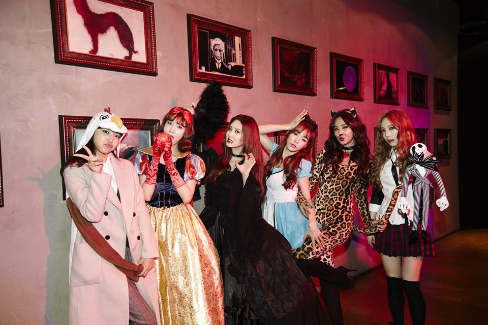Girls' Generation at SM Halloween Party 2014