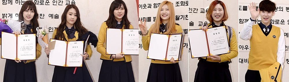 Idols' high school graduation