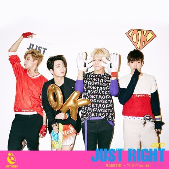 """GOT7 releases fourth round of teasers for """"Just Right"""""""
