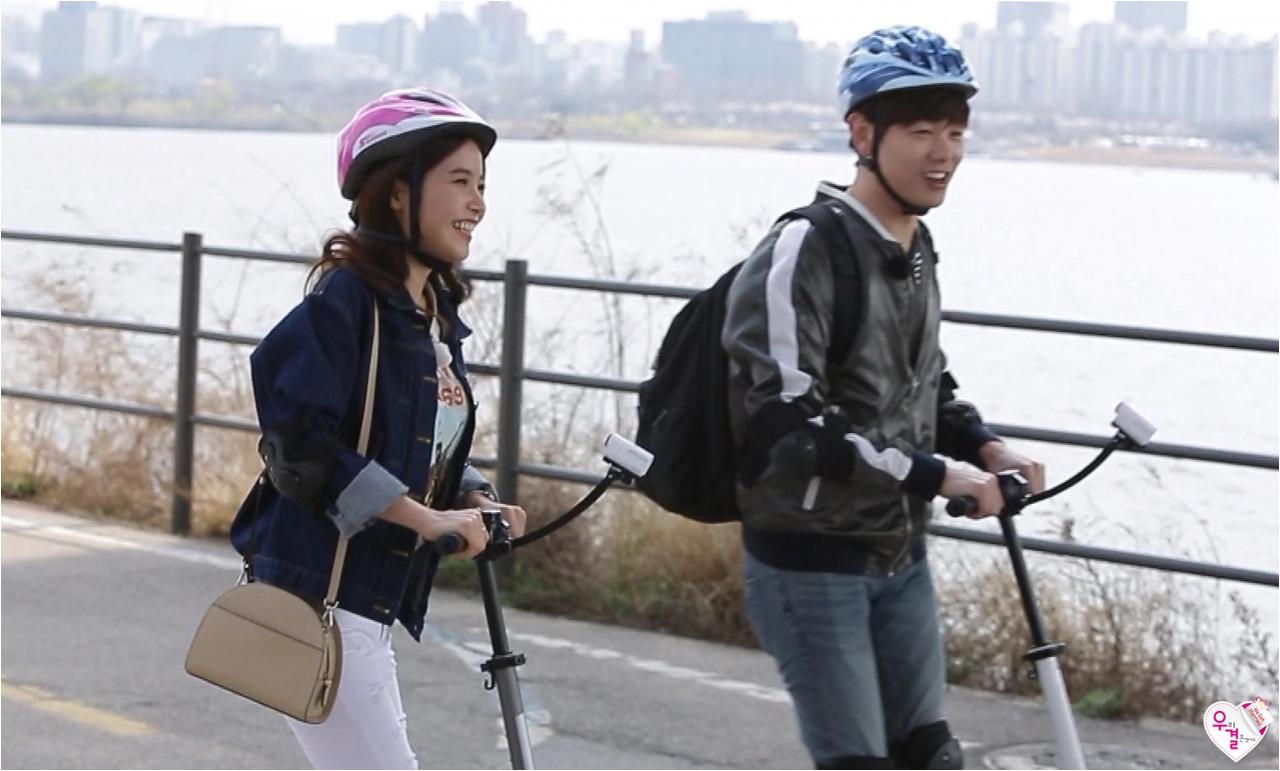 "Image: Eric Nam and MAMAMOO Solar ""We Got Married"" / MBC"