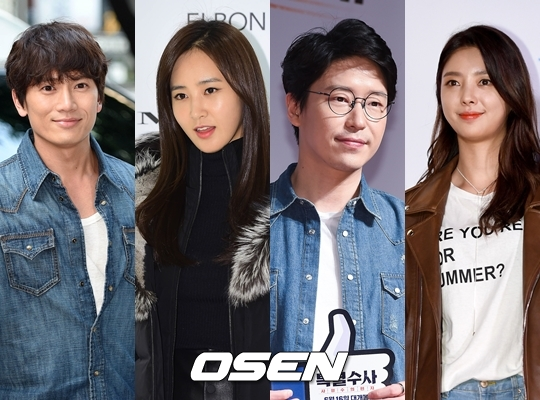 Ji Sung, SNSD Yuri, Um Ki-joon, and Uhm Hyun-kyung star in Defendant [In courtesy of OSEN]