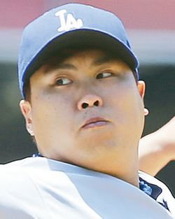 Hyun-jin Ryu. [Photograph in courtesy of Korea Daily Los Angeles]