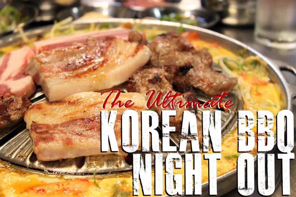 Korean BBQ Seoul Food Tour and Night Market