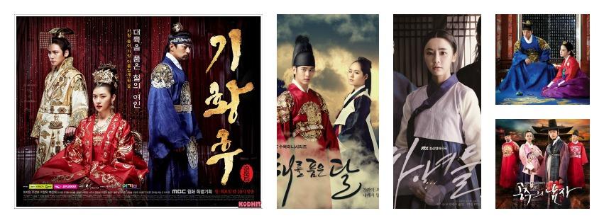 My top 5 Korean Historical Dramas