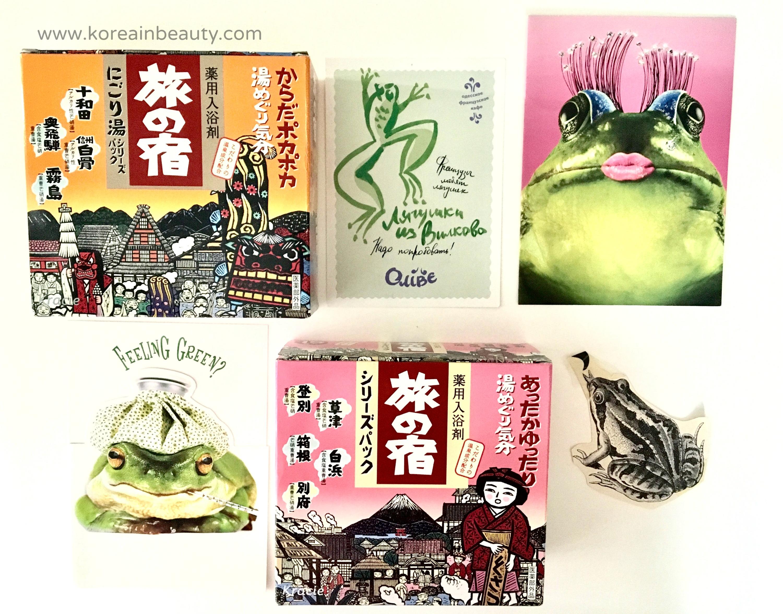 Japanese Tabino Yado Hot Spring Bath Salts Review - Korea in Beauty