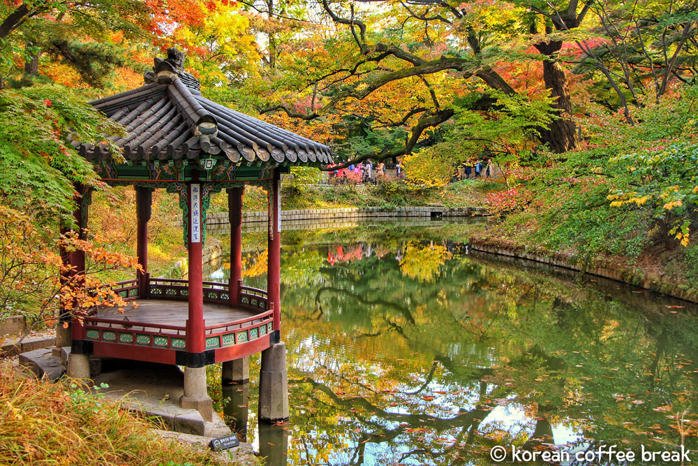 Changdeokgung Palace et Huwon son jardin secret (창덕궁과 후원)