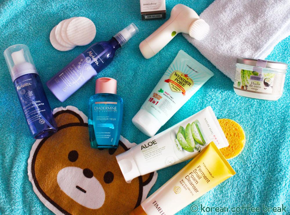 Produits démaquillants et nettoyants visage
