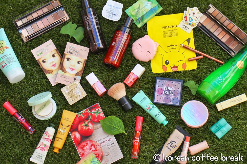 Top 10 des produits cosmétiques à se procurer en Corée du Sud