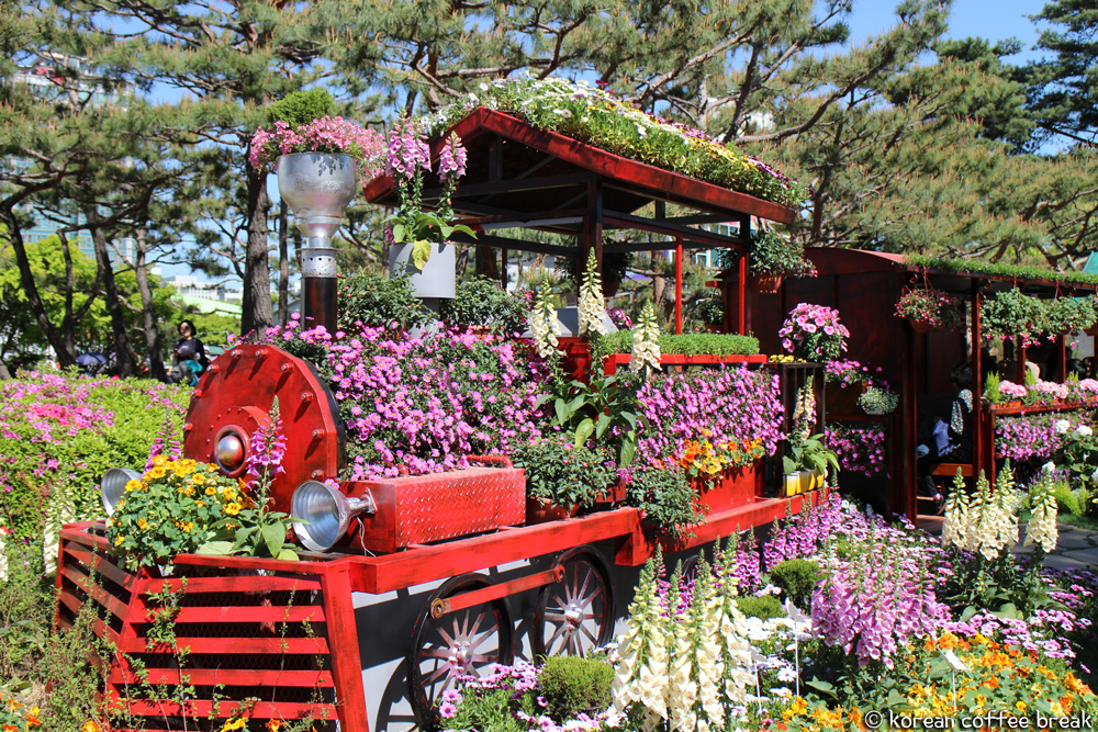 festivals printaniers incontournables en Corée : Goyang International Flower Festival
