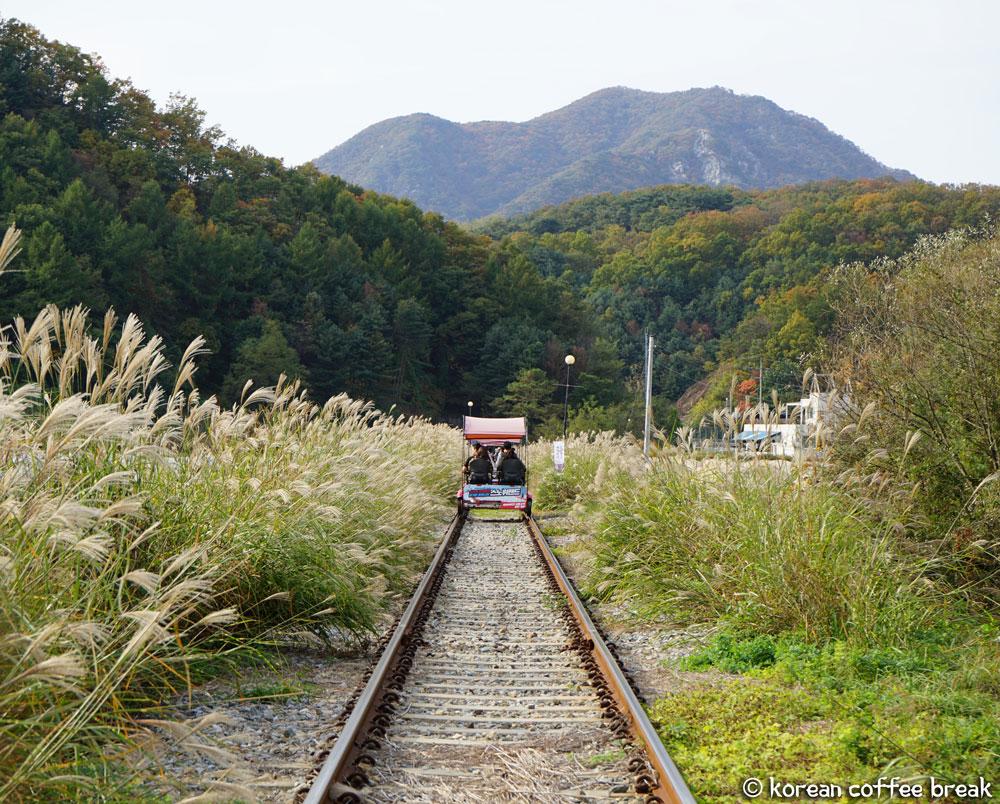 Gangchon Rail Park (강촌 레일파크)