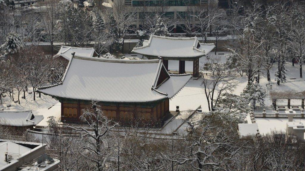 Hiver en Corée du Sud