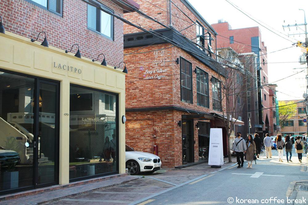 Le quartier de Seongsu